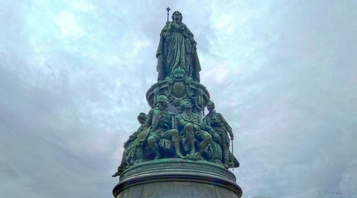 Памятник Екатерине II (Санкт-Петербург). - Elena Izotova