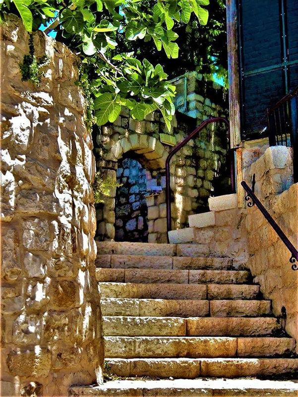 По улочкам древнего Цфата - Гала