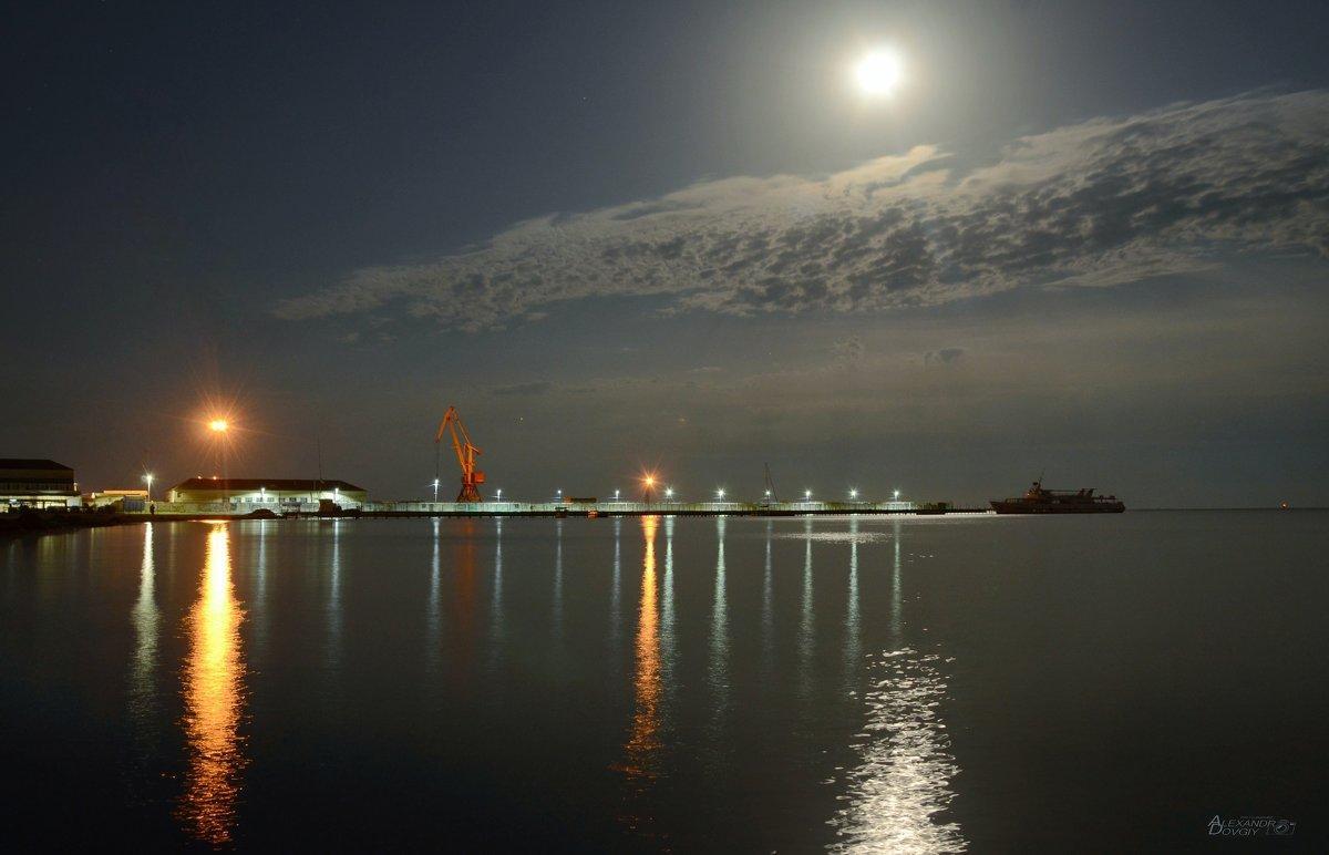 Ночной порт - Александр Довгий