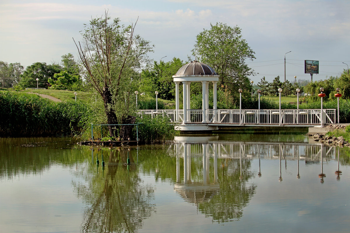 Парк на набережной. - barsuk lesnoi
