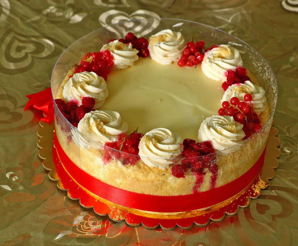 Именинный торт - Светлана