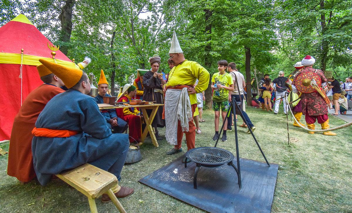Фестиваль Времена и Эпохи - юрий поляков