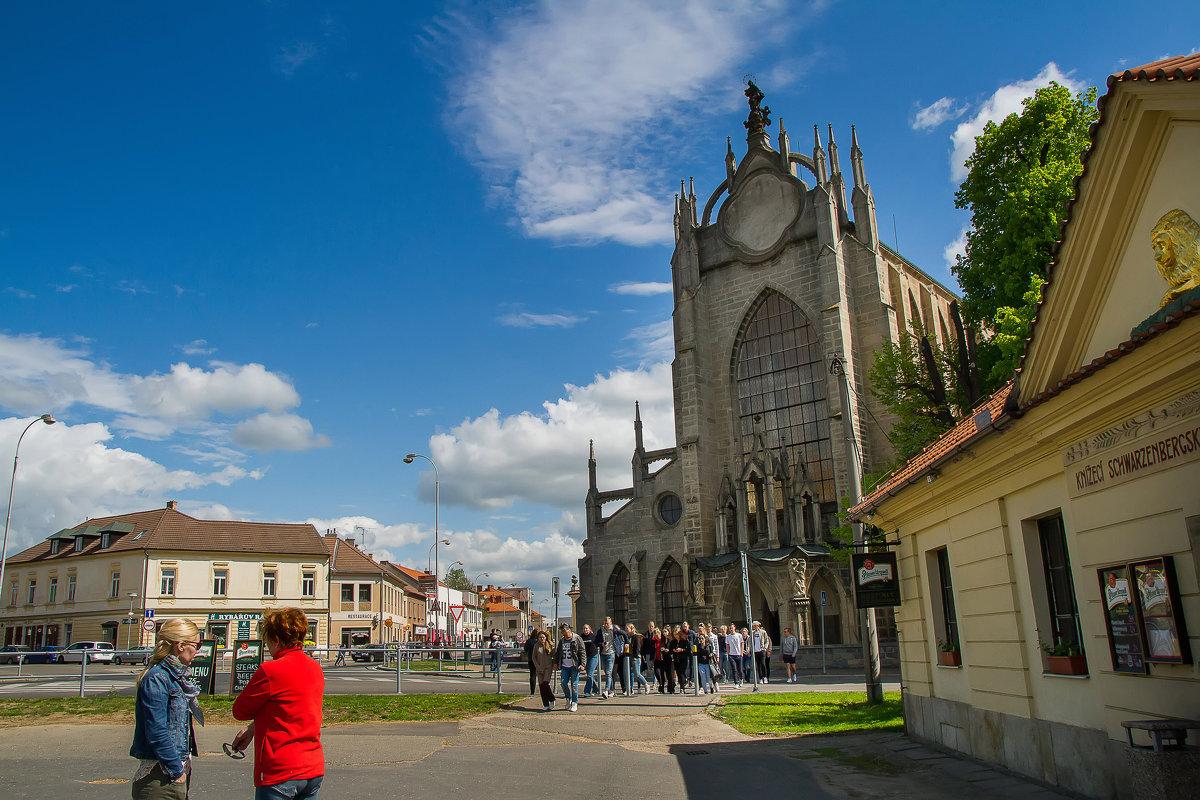 Средневековый чешский замок Жлебы - leo yagonen