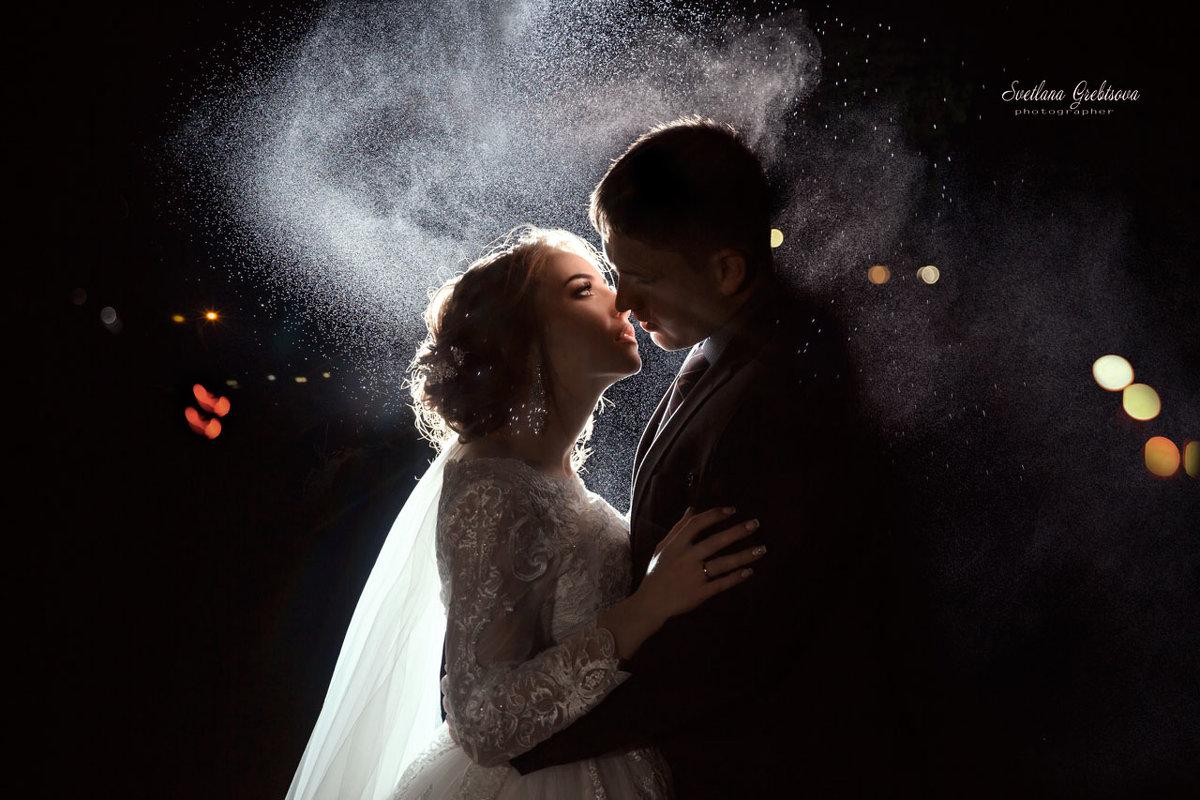 Завершающий поцелуй свадебного дня! - Светлана Гребцова