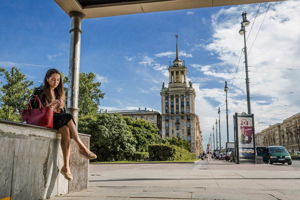 Станция метро Парк Победы Санкт-Петербург - Игорь Свет
