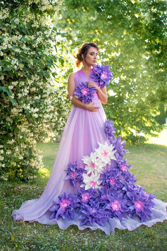 Цветочная фантазия - Любовь Дашевская