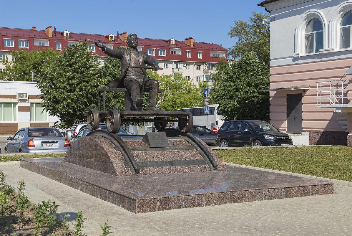 Памятник Йывану Кырле - Анатолий Грачев