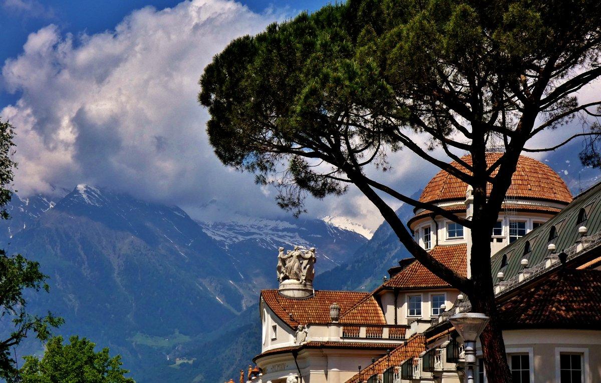 Южный  Тироль,город  Мерано,Италия . - backareva.irina Бакарева