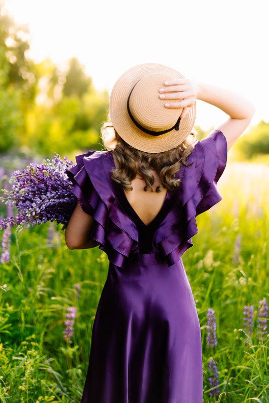 Лето в люпине - Анастасия Плесская