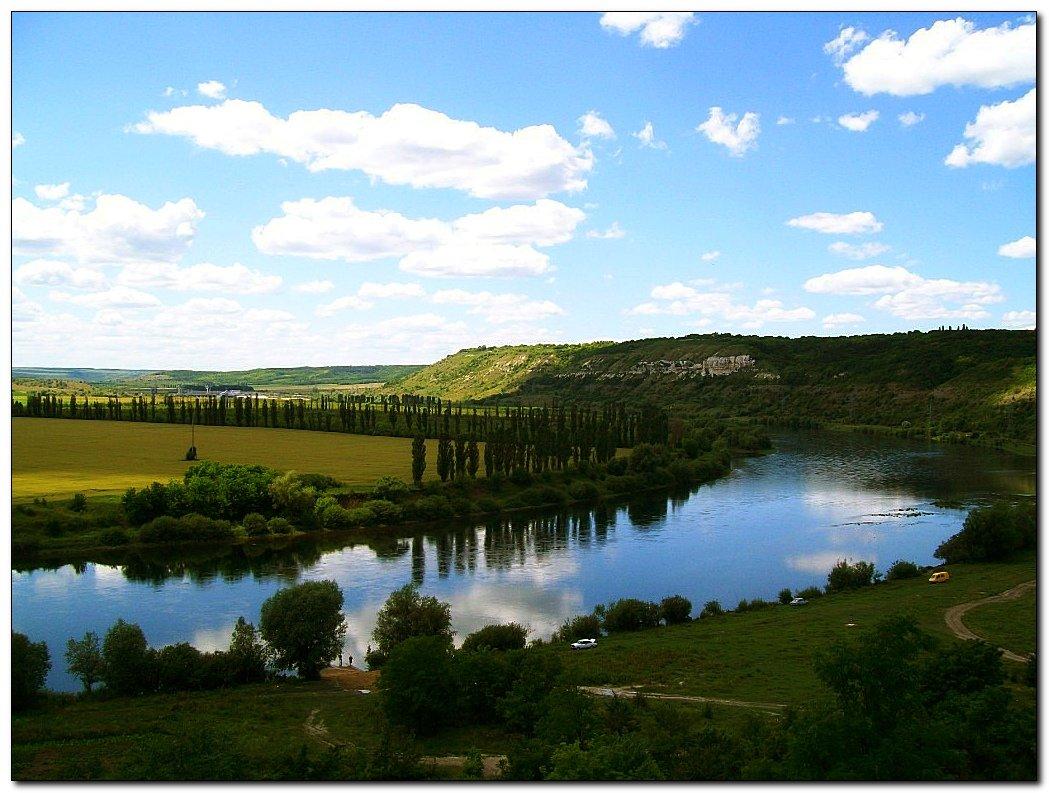 Река Днестр, Украина - Молдова - Людмила
