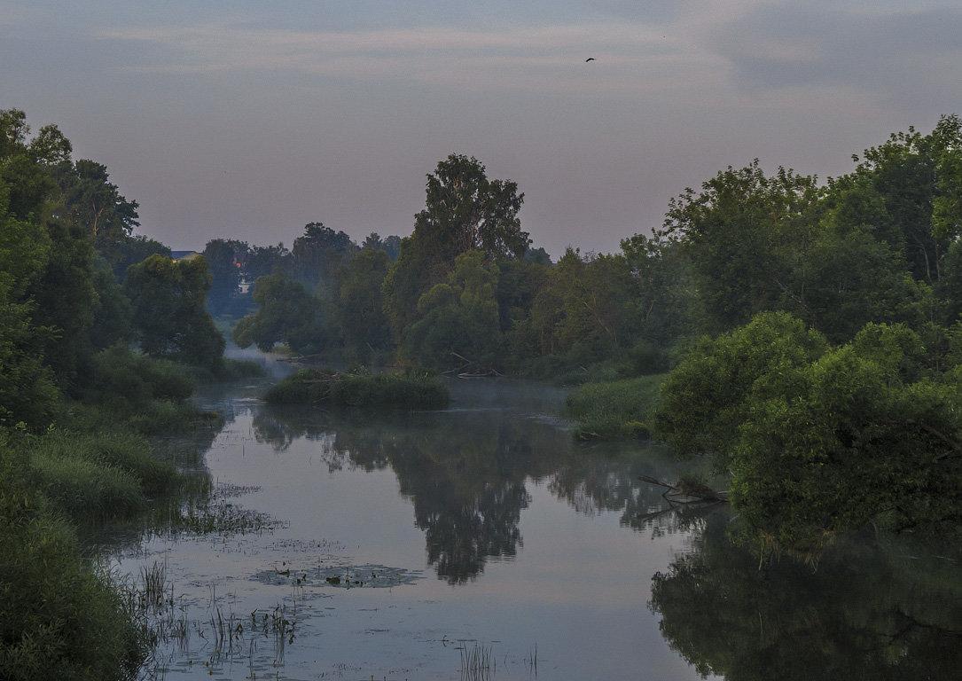 Раннее утро на реке Киржач - Сергей Цветков