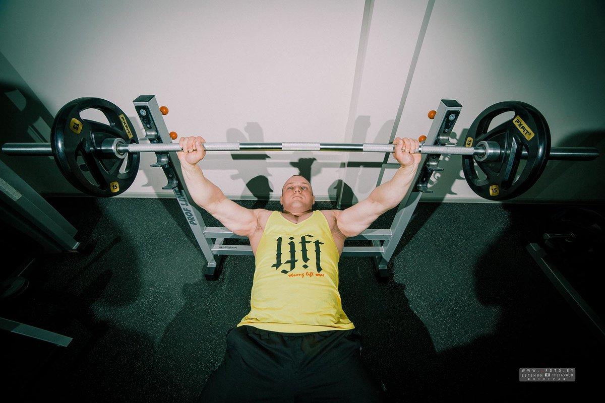 спортзал г.Кричев 8 школа - Евгений Третьяков