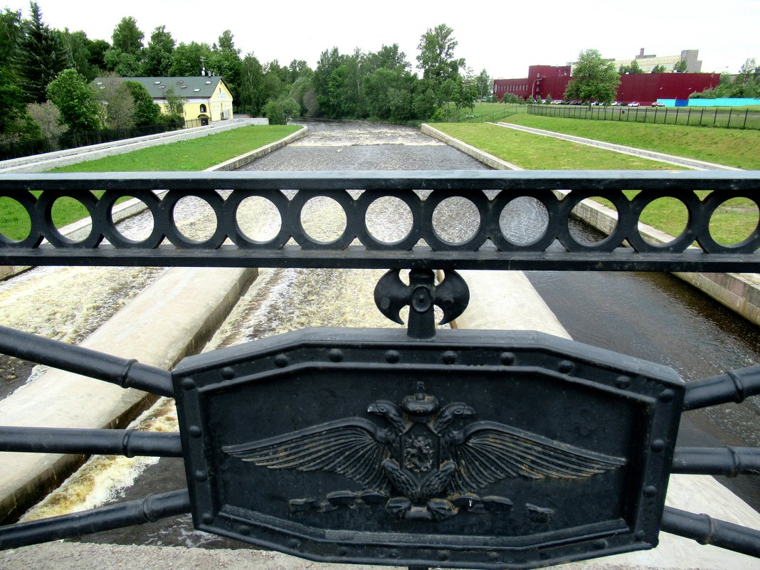 Мост-плотина на реке Охта - Елена Павлова (Смолова)