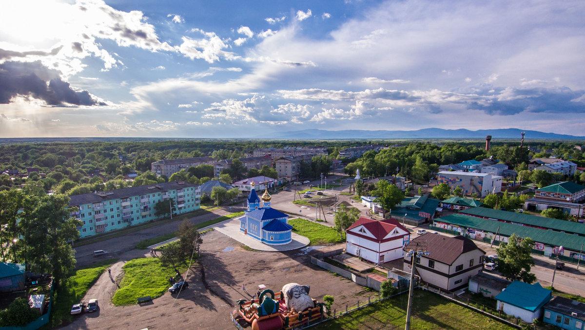 родной посёлок с нового ракурса - Виталий Левшов