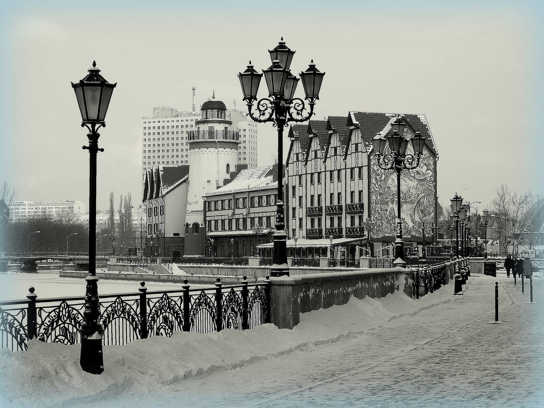 Черно-белая зима - Сергей Карачин