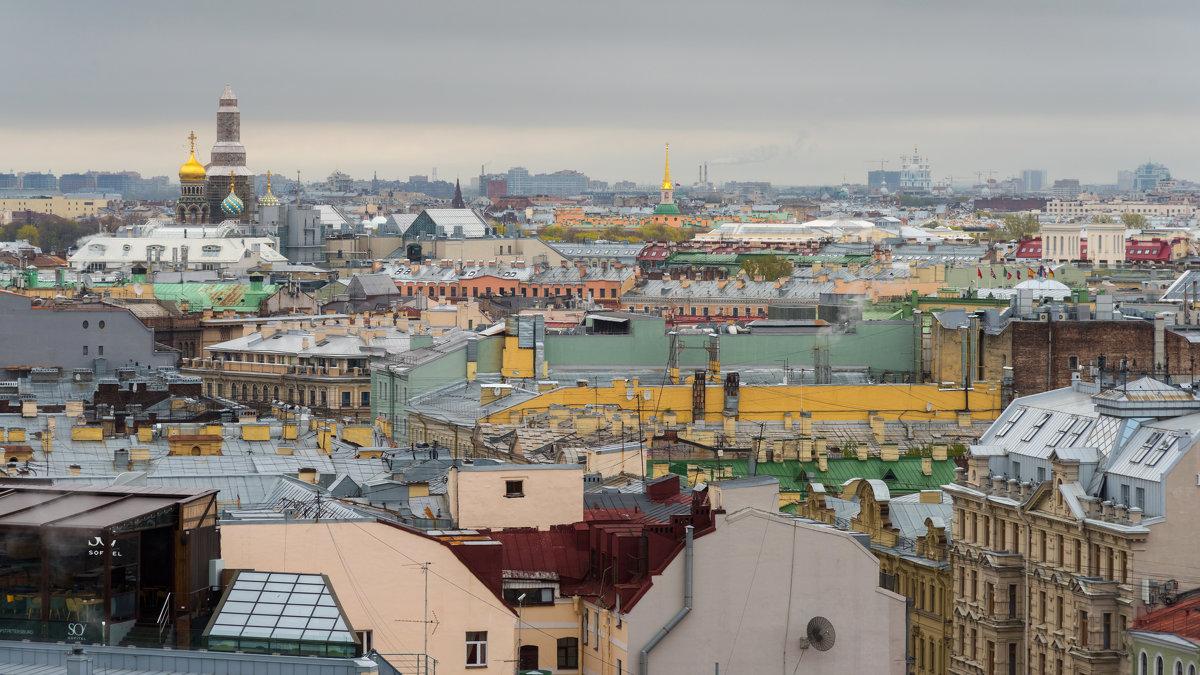 Панорамный вид на Питер. - Владимир Лазарев