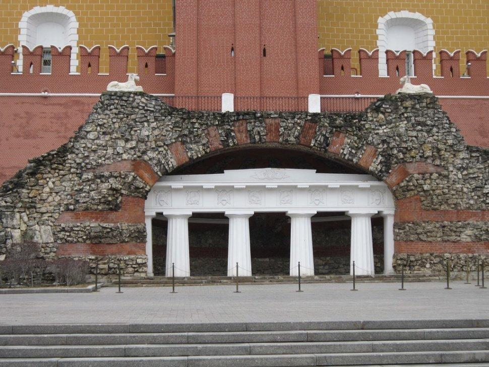 Грот в Александровском сад - Дмитрий Никитин