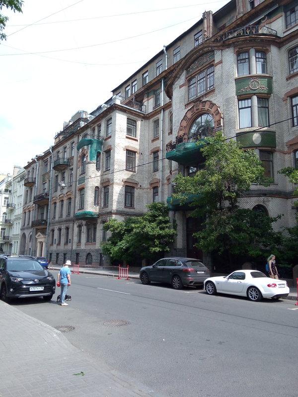 Таврическая улица. (Санкт-Петербург). - Светлана Калмыкова