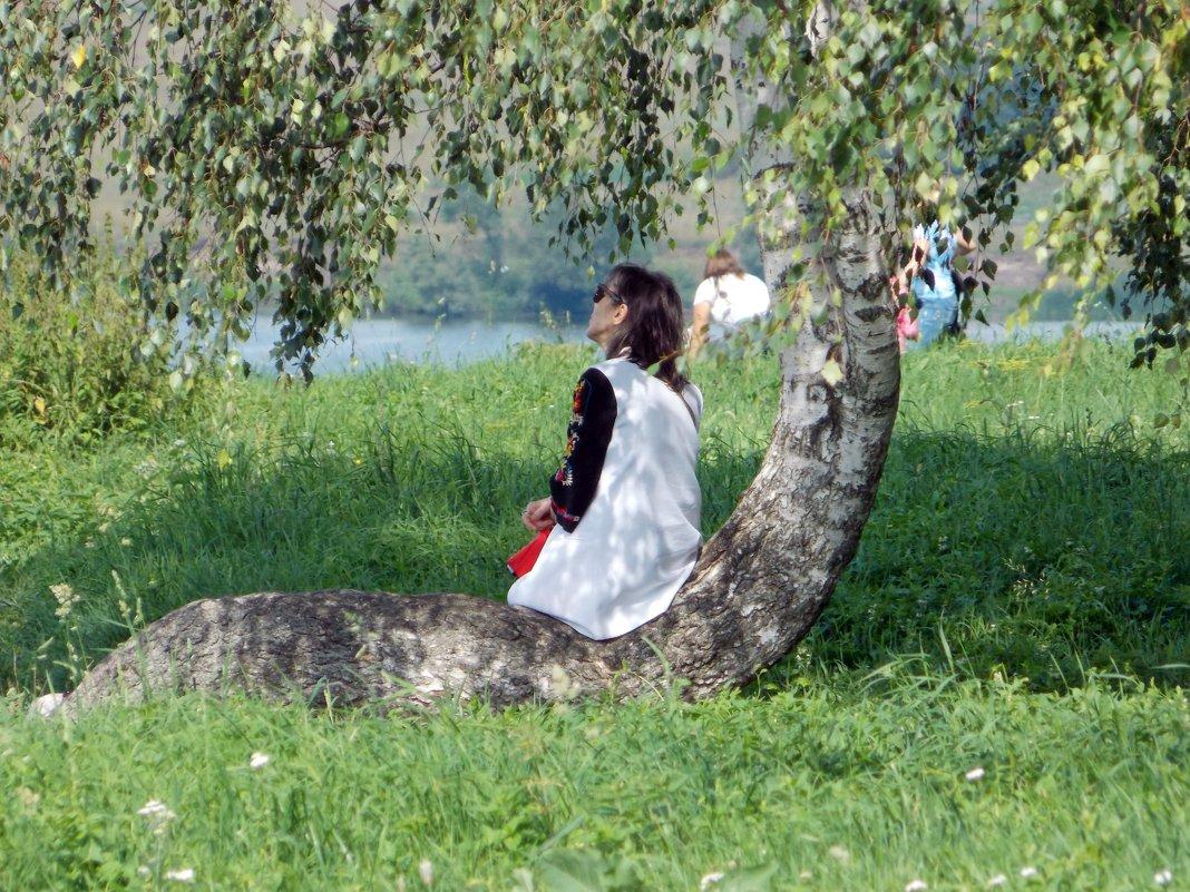 Под березою - Galina Solovova