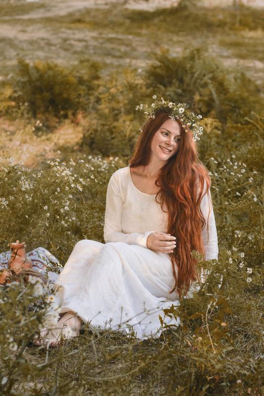 ромашковый закат - Лена Лиманова