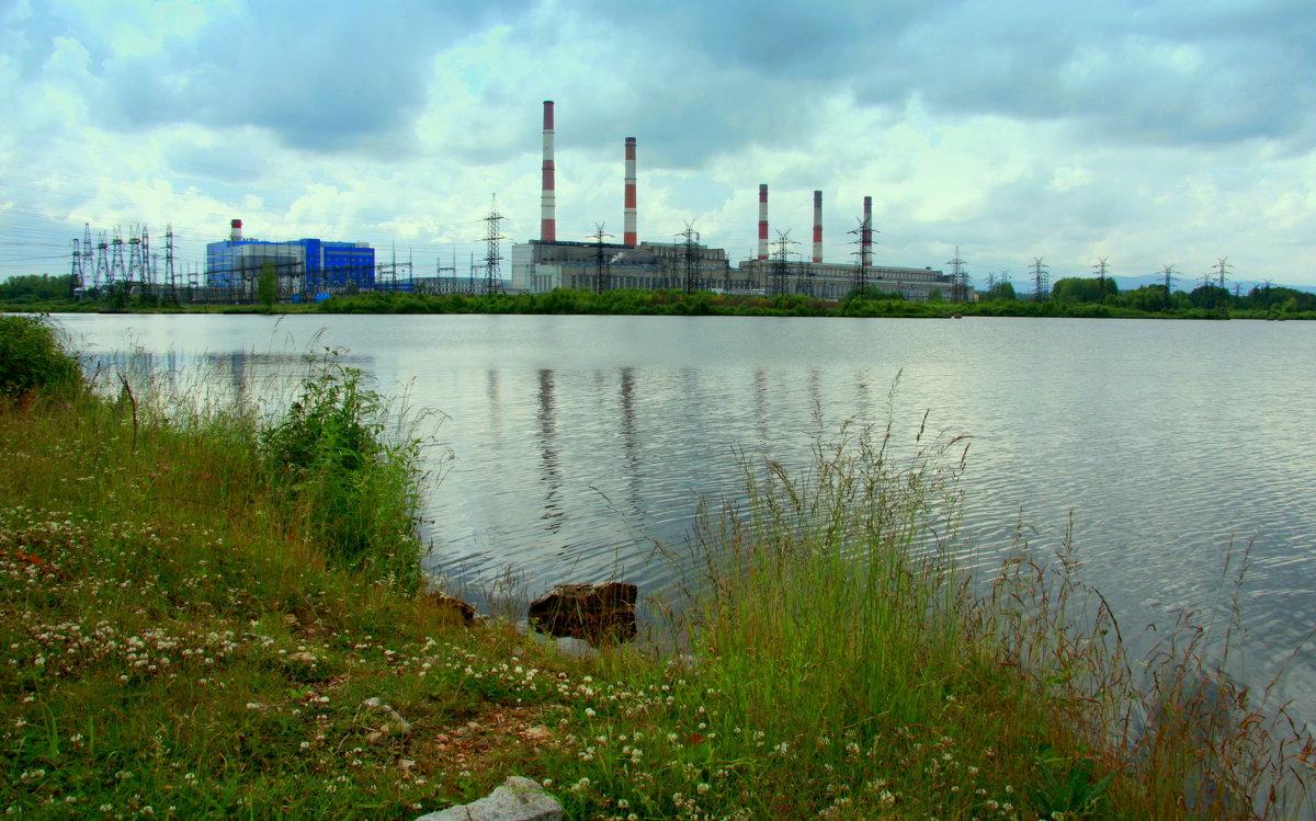 Индустриальный пейзаж - Нэля Лысенко
