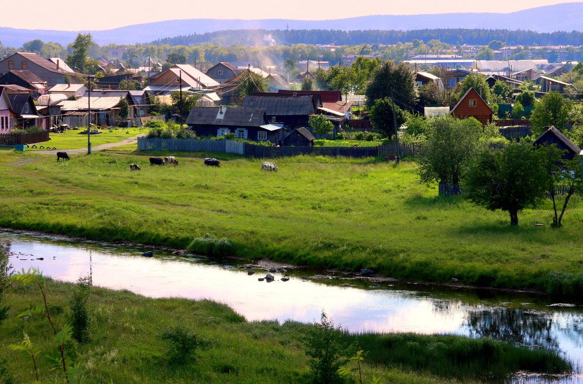 Летний вечер у реки - Нэля Лысенко