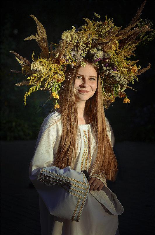 Ой на Ивана...ой на Купала... (случайный уличный портрет) - Александр Бойко