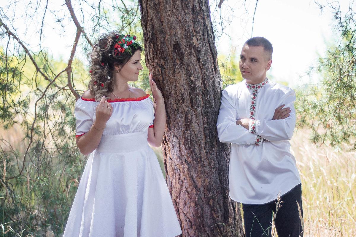 Свадьба Максима и Инны в народном стиле - Анастасия Науменко