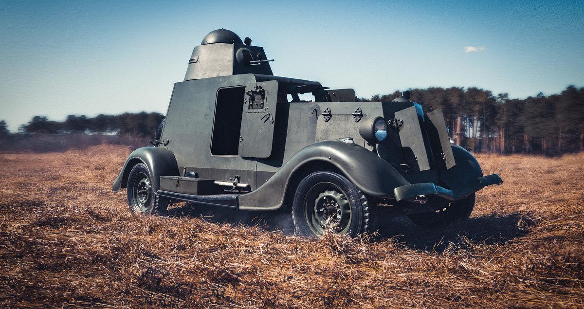 Легкий бронеавтомобиль БА-20 - Андрей Неуймин