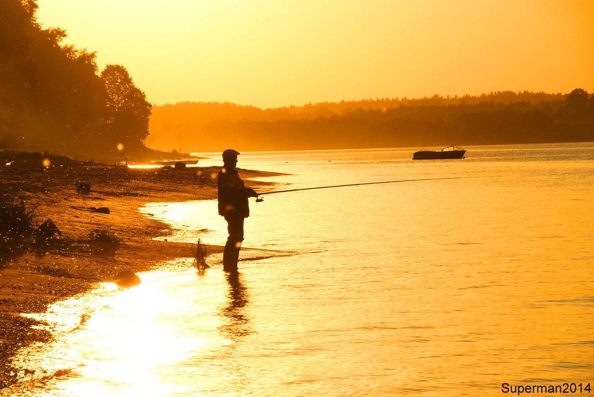 Вечерняя рыбалка