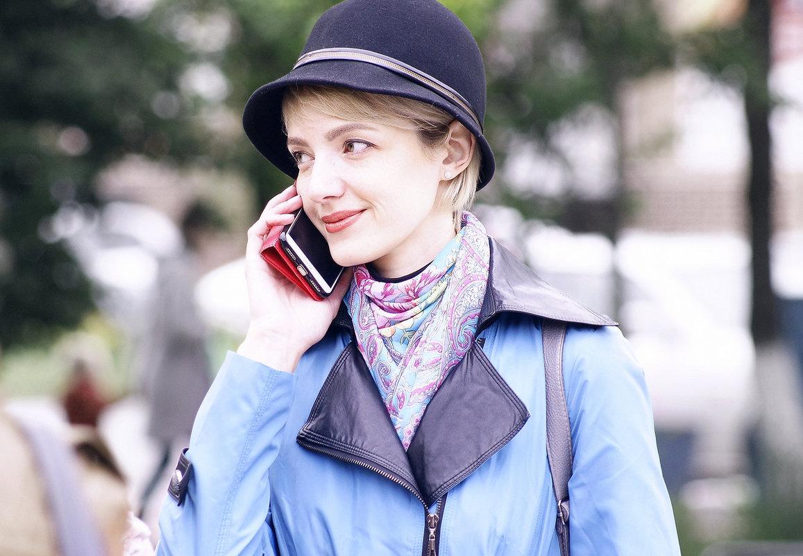 Девушка с телефоном... - Николай Меньщиков