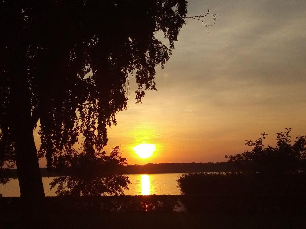 закат на Волге - марина ковшова