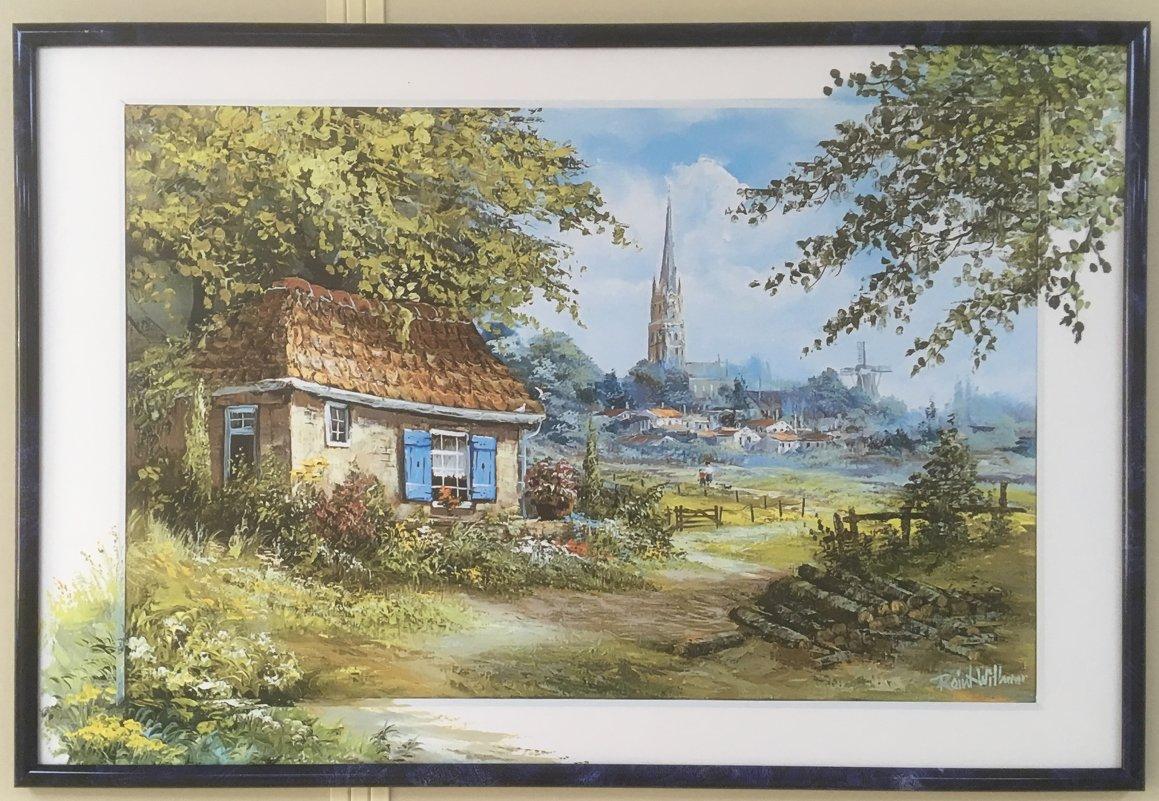 Картина на стене - Надежда