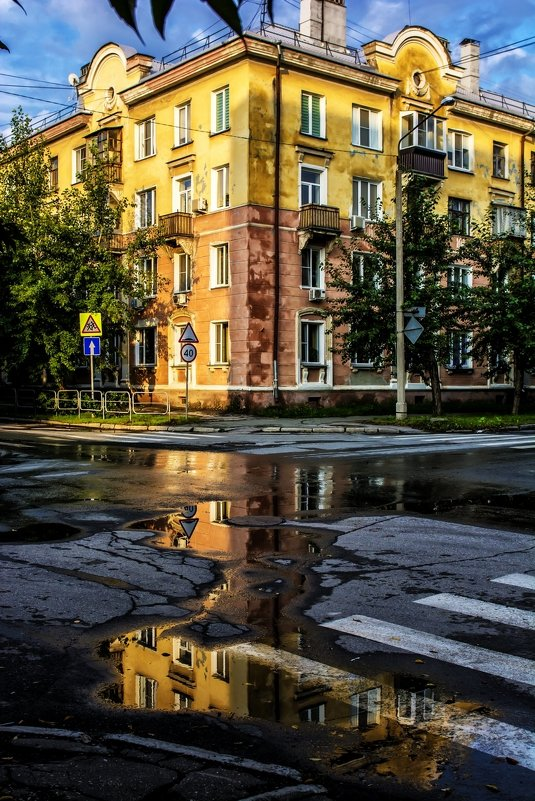 После дождя - Dmitry Ozersky
