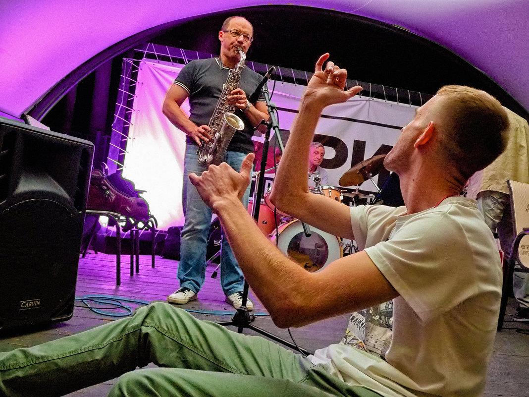 Андрей Турыгин. Live Jazz Jam Session в гриль-зоне У ГАРИКА 31 августа 2019. - Андрей Пашис