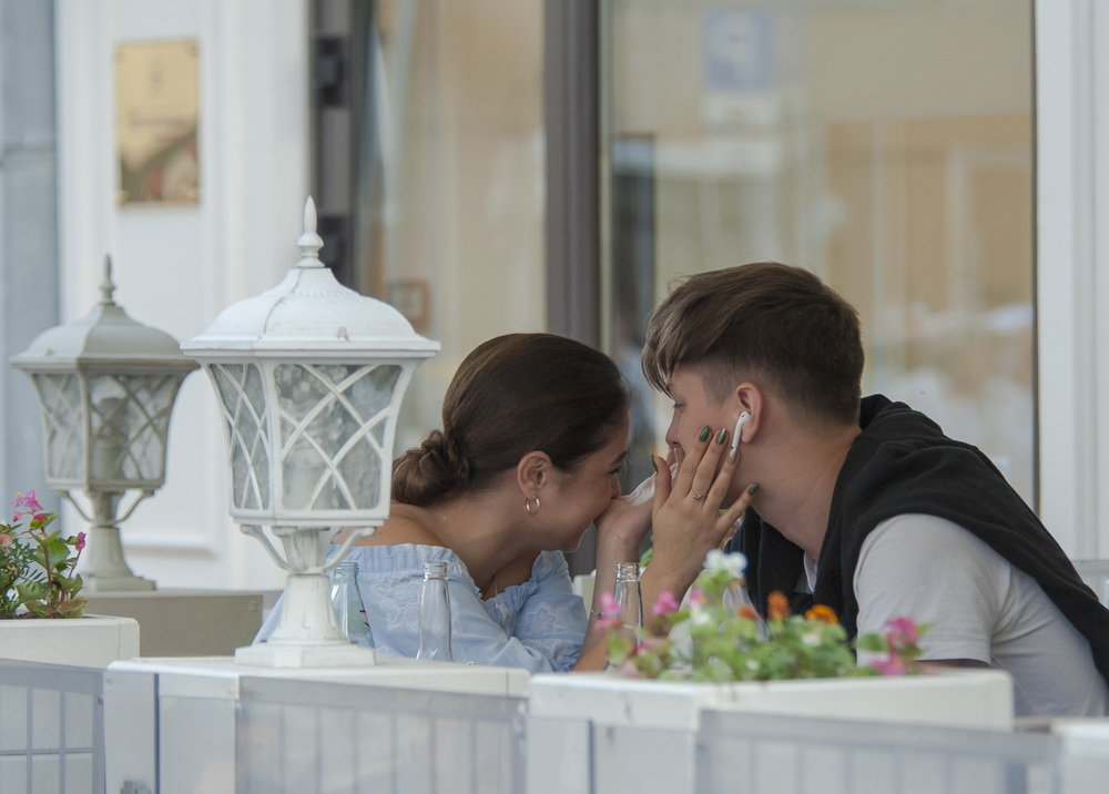 В летнем кафе** - Александр Степовой