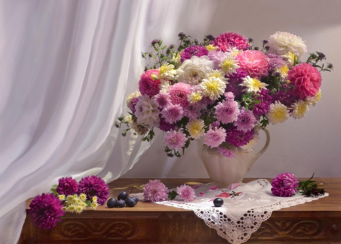 Уход за срезанными хризантемами