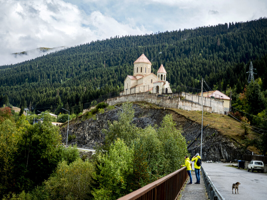 Церковь святого Николая. Местия. Сванетия - Лариса Батурова
