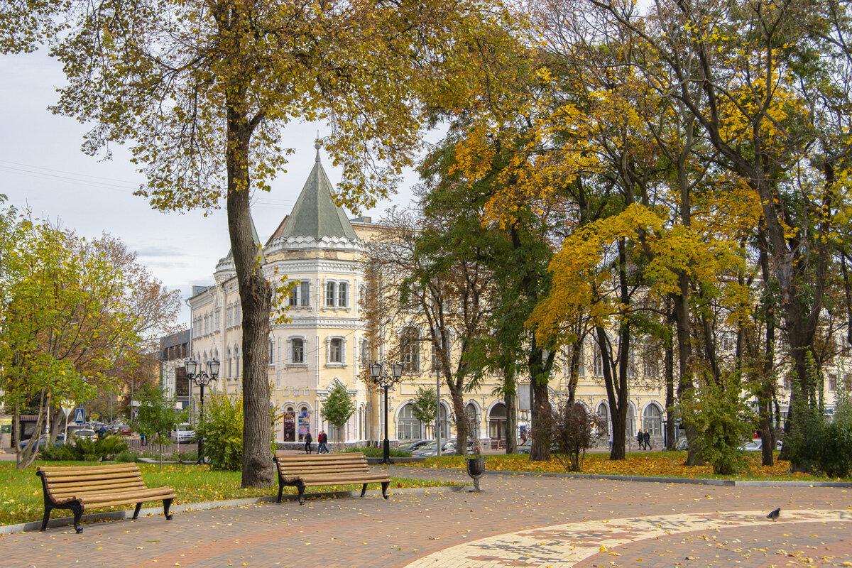 Осень в Чернигове - Александр Крупский