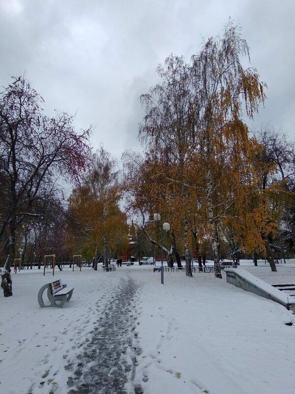 Первый снег ... - Татьяна Котельникова