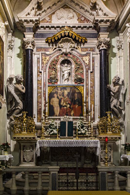 Внутреннее убранство итальянских церквушек... (Lerici) - Владимир Новиков