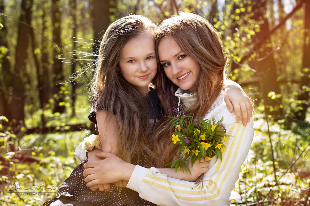 Большинство проблем у женщин исходит от их матерей.