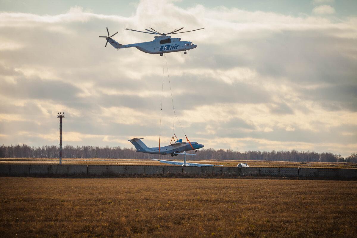 Транспортировка самолета - Сергей Зырянов
