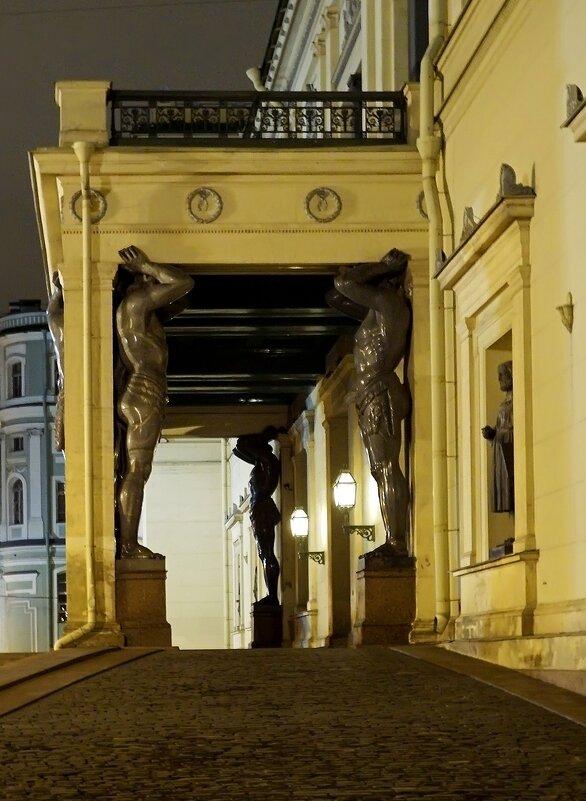 Эрмитаж. Атланты (Санкт-Петербург) - Ольга И