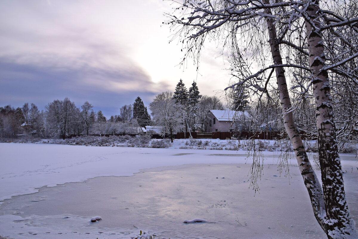 Зимнее озеро - Татьяна