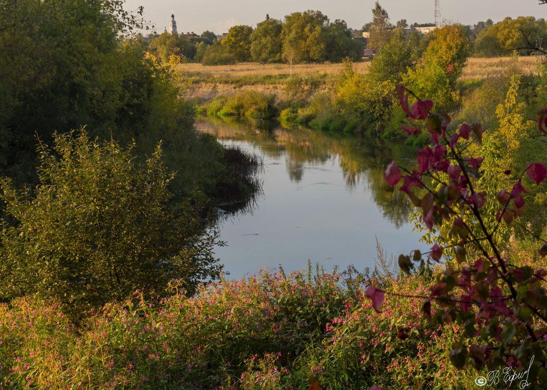 Сентябрьский пейзаж у реки - Владимир Ефимов