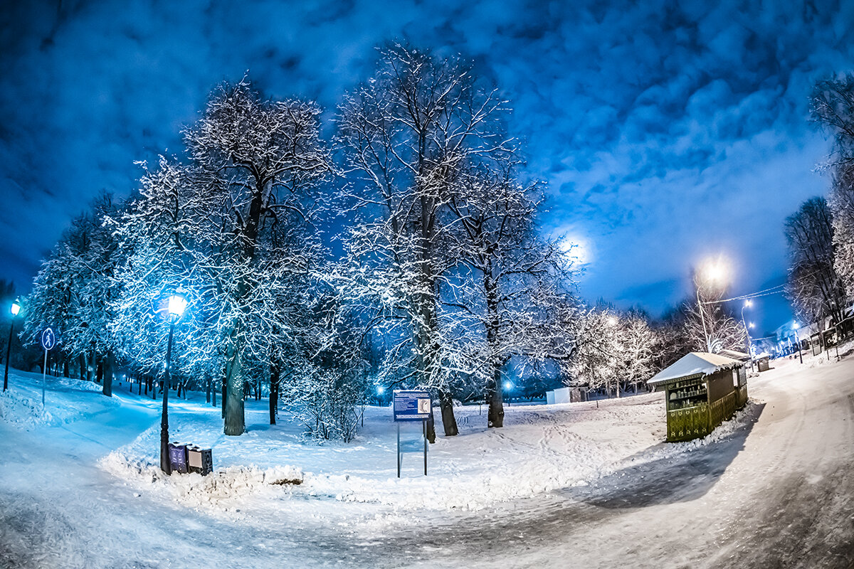 Зимняя сказка в Коломенском - Игорь Герман