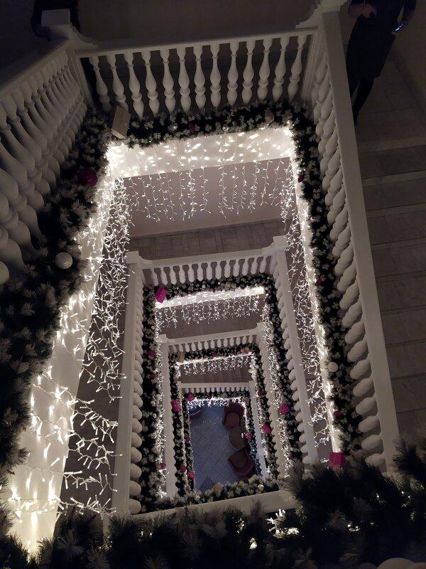 Праздничная лестница. - Ирина ***
