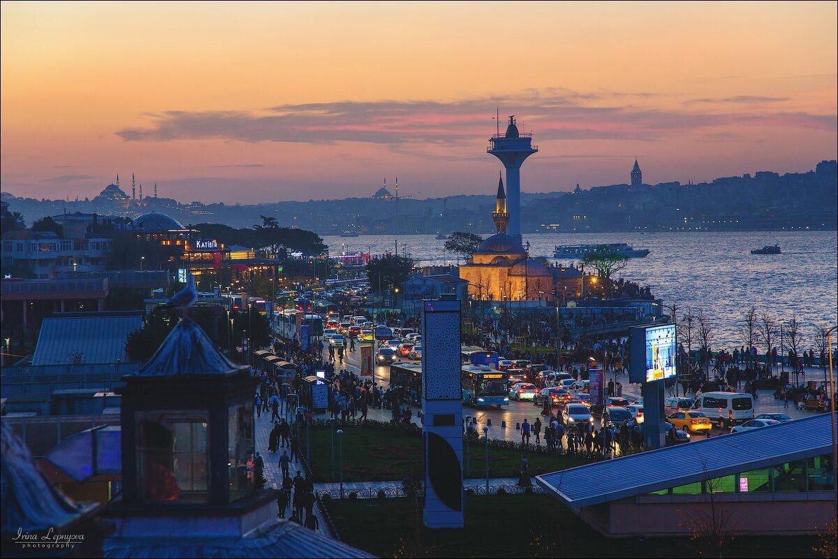Азиатская часть Стамбула. Ускюдар и Босфор - Ирина Лепнёва