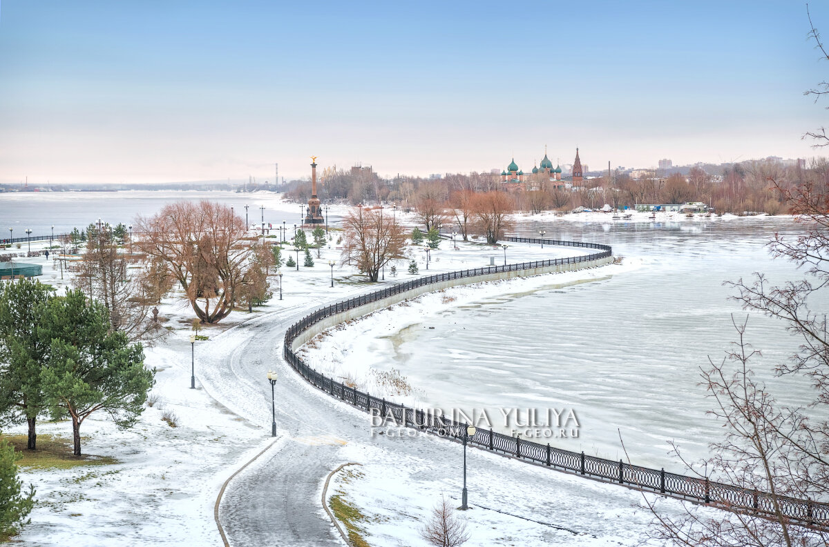 Вид на Парк Стрелку - Юлия Батурина